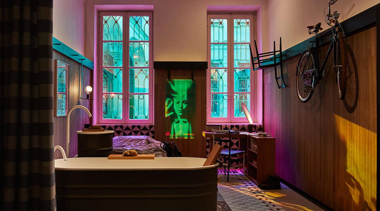 Elle decor grand hotel milano studio grassi design for Home decor milano